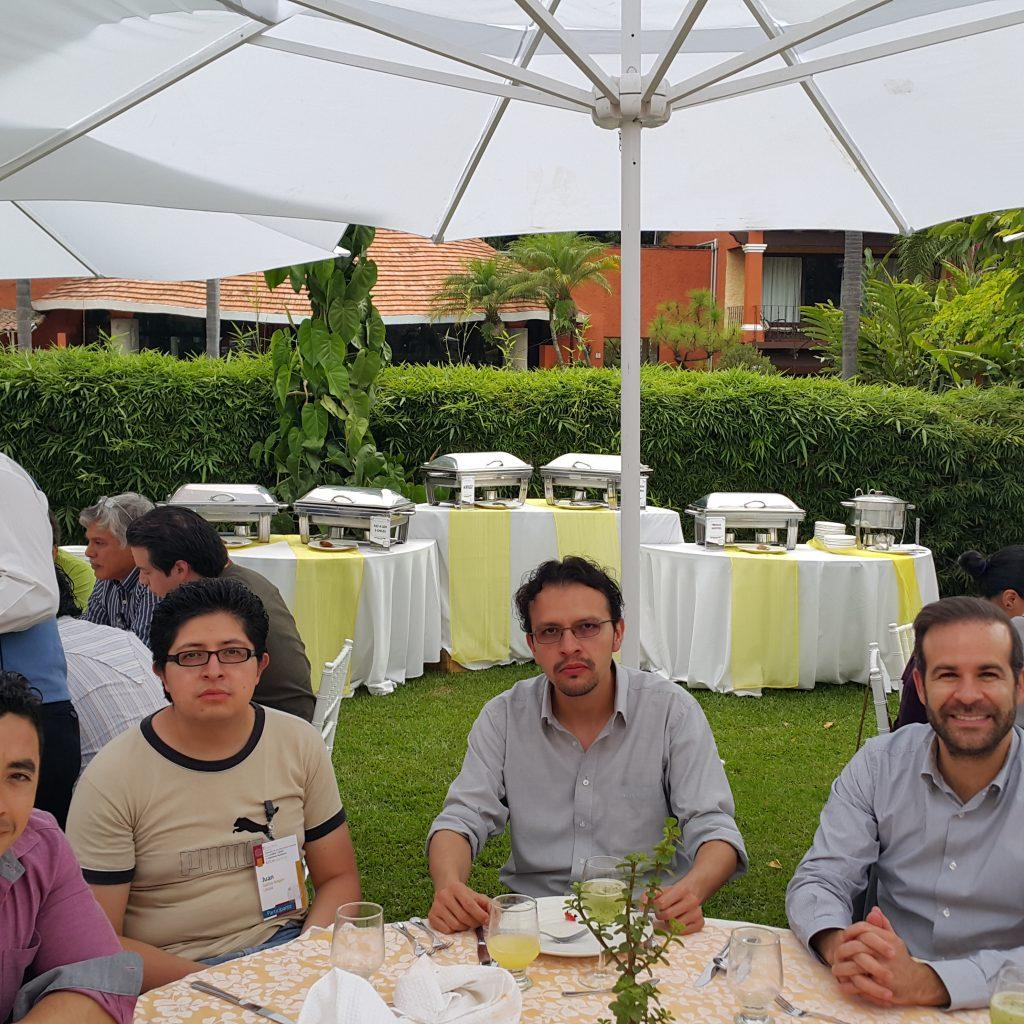 Participantes de la UNAM