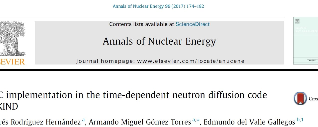 HPC implementation in the time-dependent neutron diffusion code AZKIND